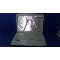 Carcaça Notebook Acer Aspire 5520 Completa Com Gravador Dvd.