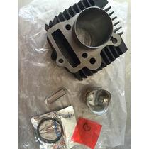 Kit Cilindro/pistão E Aneis Dafra Super 100 Mod Original