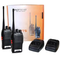 Radio Comunicador Walk Talk Baofeng Bf-777s Talkabout + Fone