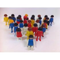 Playmobil Lote Com 27 Bonecos - Produzidos Em 1974