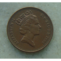 1278 Inglaterra 1993 Two Pence 26mm - Bronze Elizabeth