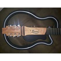 Violão Ramá Vazado Corda Aço Luthier Silent Guitar Slg200