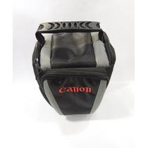 Bolsa Case Triangular Para Canon Eos Ou Semi-profissional