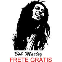 Adesivo Decorativo Parede Cantos Bob Marley - Frete Grátis