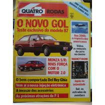 Revista 4 Rodas N. 321 - Maio De 1987 - Estado De Nova