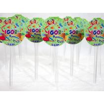 50 Mini Totens Para Docinhos E Cupcake 3cm!