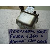 Regulador De Voltagem Do Fusca 1200 E Kombi 1200 6 Volts Okm