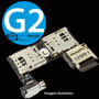 Conector Slot Placa Chip Micro Sd Moto-g 2 G2 Xt1068 Xt1069