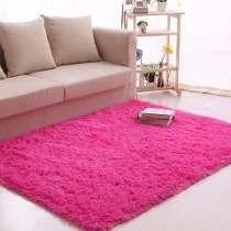 Tapete Shaggy Luxo + Peludo 4cm Felpudo Rosa Pink