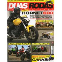 Duas Rodas N°431 Ago/2011 Hornet 600 Ninja Bandit Ducati 696