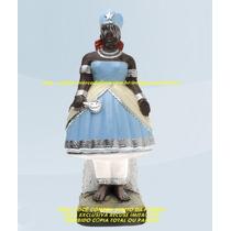 Escultura Orixa Africano Iemanja Linda Imagem 60cm Fabrica