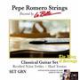 Encordoamento (cordas) P/ Violão La Bella Pepe Romero Grn