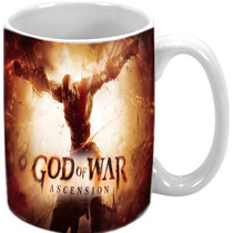 Caneca God Of War Ascension Ps3 Ps4 Ps2 Psp