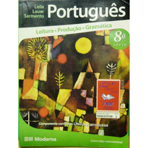 Livro Português Leitura Produção Gramática 8ª Série