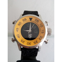 Lindo Relógio Ferrari Cronometro Analog/digital Frete Gratis