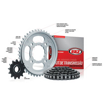 Kit Transmissão Relação Honda Biz 125 Todas Vaz