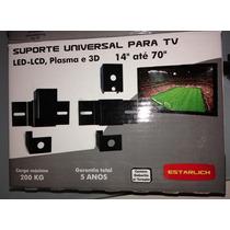 Suporte Universal Tv Lcd,led E Plasma De 14 A 70 Polegadas