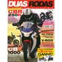 Duas Rodas N°430 Jul/2011 Cbr 250r Cb 1000 Hornet Z1000 Fz8