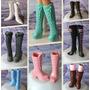 Bota * Sapato Luxo Para Barbie * Sapatinho :lindos Modelos