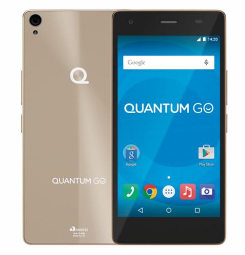 Celular Positivo Quantum Go Dourado 3g 16gb 1 Ano Garantia