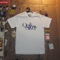 Camiseta Quiksilver Cor Branca Importada Pronta Entrega