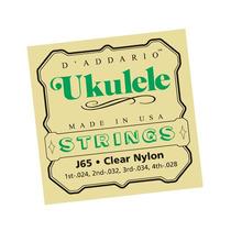 Encordoamento Para Ukulele Daddario J65 Nylon 2355