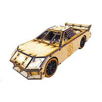 Brinquedo De Montar - Quebra-cabeça 3d - Carro De Corrida