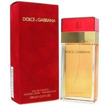 Perfume Dolce & Gabbana Feminino Vermelho 100ml - Original