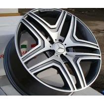Rodas Aro 20x9,5 Mercedes Ml 63 Amg 5x112 +pneu 275 40 20 Nv