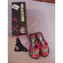 Chinelo Infantil Grendene Lovely Monster High N.26-27