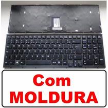 Teclado Para Notebook Sony Vaio Vpc-eb Séries Preto Br Com Ç
