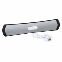 Caixa De Som Super Bass Bluetooth Stereo Usb Pen Drive Novo