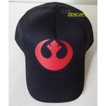 Boné Trucker Cap Star Wars Aliança Rebelde