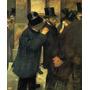 Bolsa De Valores Ações Câmbio 1878 Pintor Degas Tela Repro