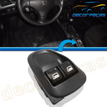 Botão Vidro Elétrico Peugeot 206 00 - 09 Duplo Interruptor