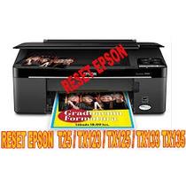 Reset Impressora Epson Tx 135