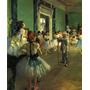 Classe Turna Aula Dança Balé 1873 Pintor Degas Tela Repro