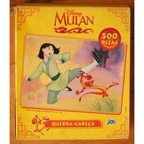 Quebra Cabeças Mulan 300 Peças - Disney Jak