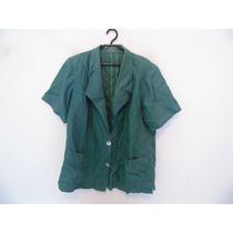 Camisa Social Feminina Verde Cód. 722