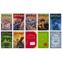 Coleção Harry Potter 10 Livros Capa Original Frete Grátis