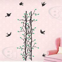Adesivos Decorativo De Parede Árvores Florais Galho Infantil