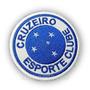 Tmg012 Cruzeiro Time Mg 6cm Escudo Futebol Tag Patch Bordado