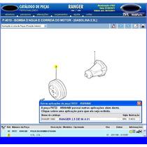 Polia D Bomba D Água D Ranger 2.3 D 96a97 E 2.5 D 98a01