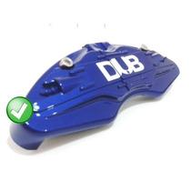 Capa Para Pastilha Pinça De Freio - Dub Azul - Par