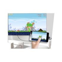 Cabo Mhl Hdmi Micro Usb Celular Compatível Android Samsung