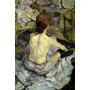 Mulher No Banho Banheira 1896 Pintor Lautrec Tela Repro