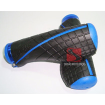 Manopla Punho Scud Ergonomica Universal Preto / Azul