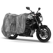 Capa Cobrir Moto Escapamento Quente Impermeavel G Forrada
