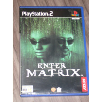 Enter The Matrix ( Jogo Original Ps2 Europeu Pal )