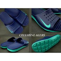 Chinelo Nike 44 Solarsoft Slide Azul Royal Frete Gratis